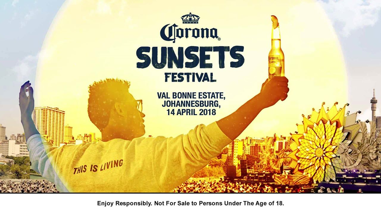WIN WITH LIKERS Corona SunSets Festival South Africa 2018 Johannesburg
