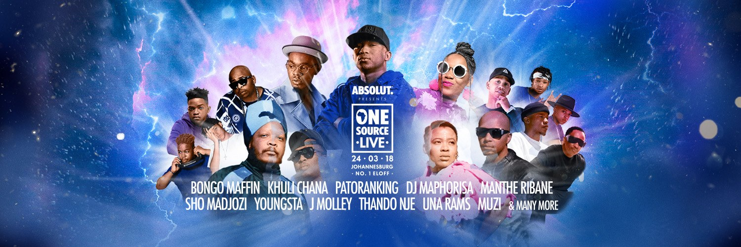 One Source Live (OSL) 24 March 2018 Johannesburg #BeAbsolut